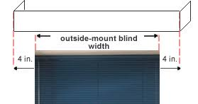 How To Install Valance Blinds Com Measuring Guide For Quick And Easy Measurements