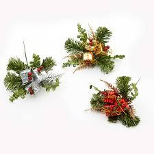 christmas picks holidays celebrations christmas cone fruit picks swags