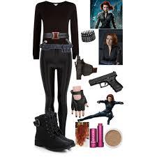 Black Widow Halloween Costumes Diy Halloween Costume Black Widow Polyvore