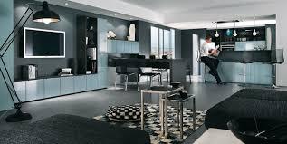 salon avec cuisine ouverte idée relooking cuisine cosy moderne et sobre le salon avec