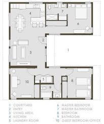 open floor house plans modern home