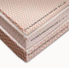 Mini Portable Crib Bedding by Amazon Com Ely U0027s U0026 Co Pack N Play Portable Mini Crib Sheet Set