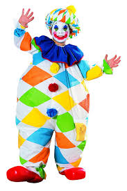 Clown Costumes Amazon Com Rubie U0027s Costume Co Inflatable Clown Costume Toys U0026 Games