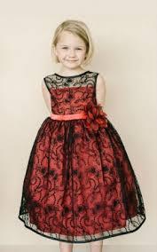 Flower Girls Dresses For Less - deep red flower dresses flower dress for less