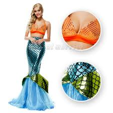 little mermaid halloween costume for adults online get cheap ariel costume aliexpress com alibaba group