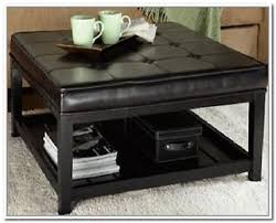 Wicker Storage Ottoman Fabric Storage Ottoman Coffee Table Home Design Ideas