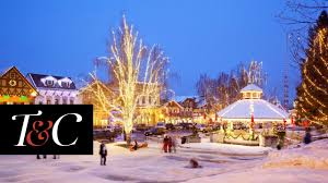 country towns america s 16 best small towns for christmas town country youtube