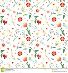 floral wrapping paper floral and plant vector seamless pattern wrapping paper design
