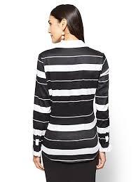 Black And White Plaid Shirt Womens Blouses For Women Women U0027s Shirts Ny U0026c