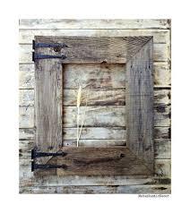 How To Reclaim Barn Wood Handmade Reclaimed Barn Wood Frame For Mirror Large Rustic Wood