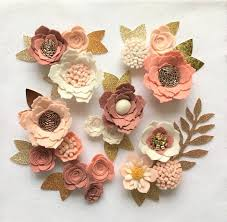 felt flowers forward