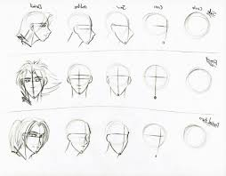 sketch face tutorial simple front view face drawing tutorial
