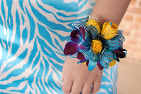 blue corsages for prom corsage inspiration blue
