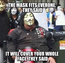 Guy Fawkes Mask Meme - anonymous troops roll out to attack donald trump rebrn com