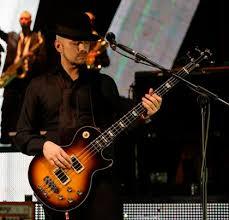 bass player Stuart Zender