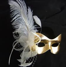 masquerade masks with feathers burlesque theme party supplies pin masquerade feather fan and