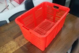 Jual Keranjang Container Plastik Bekas keranjang kontainer plastik lobang tipe 2209 l rajarakbarang