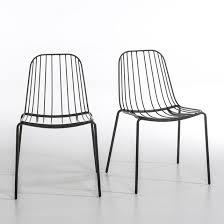 chaises m tal cool chaise en m tal mtal métal eliptyk