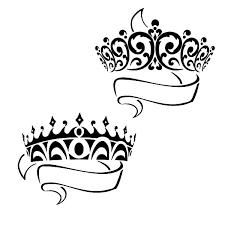 prince princess crown coloring pages netart