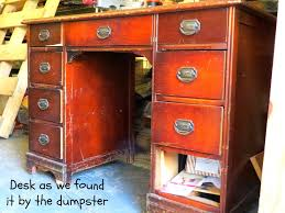 rustic rediscovered dumpster desk kitchen island