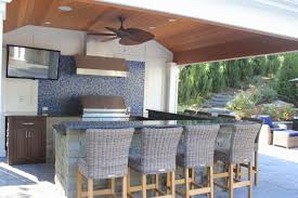Kitchens With Bars And Islands Kitchen Design Ideas Outdoor Kitchen From Pergola Area Kitchens