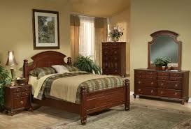 warm brown finish traditional bedroom set w arched headboard