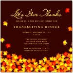 thanksgiving invite template sle thanksgiving invitation