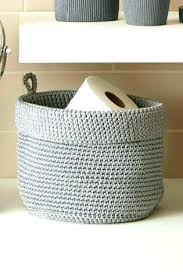 Bathroom Storage Containers Small Storage Baskets Bathroom Scoping Me