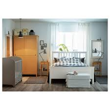 Cabinet Bed Frame Furniture Bed Bedding Appealing Ikea Hemnes With Wood Cupboard