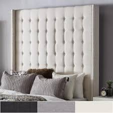 Wingback Tufted Headboard Wood Tufted Headboards For Less Overstock Com