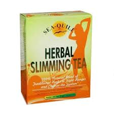 jual sea quill herbal slimming tea 24 tea bags obat pelangsing
