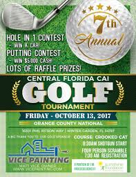 7th annual golf tournament cai central florida