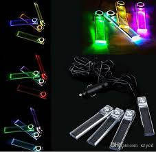 Colored Interior Car Lights Discount Led Interior Car Lights Cigarette Lighter 2017 Led