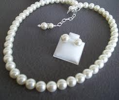 pearl earrings necklace images Pearl necklace and earrings set post stud pearl earrings single jpg