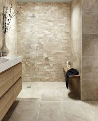 Marble Tile Bathroom Floor Best 25 Beige Tile Bathroom Ideas On Pinterest Tile Shower