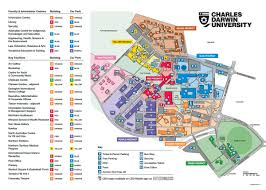 Iowa State Campus Map Cdu Casuarina Campus Map On Campus Pinterest Centre And