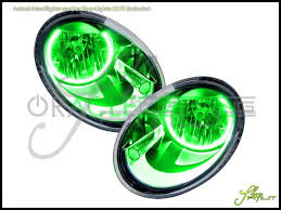 volkswagen beetle green oracle 12 15 volkswagen beetle led halo rings headlights bulbs