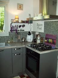 cuisine gris et deco cuisine gris vert