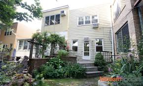 City Backyard Available Now Townhouse With Backyard In Long Island City