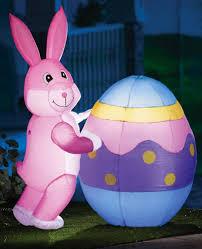 lighted easter bunny egg yard decor toys