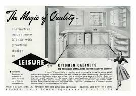 kitchen wall cabinet nottingham leisure kitchens advertisment 1950s 7198681 framed photos