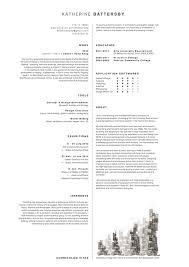 Architectural Resume For Internship Architecture Cv On Behance