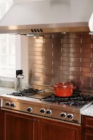 Brick Tile Backsplash Kitchen Best 10 Stainless Steel Tiles Ideas On Pinterest Stainless