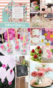 blooming baby shower ideas for invitations and flowery