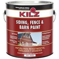 kilz barn paint 1 gallon red walmart com