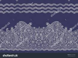 vector seamless border ethnic styleexotic flying stock vector