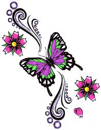 butterfly and flowers butterfly flowers design