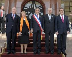 first five presidents president of chile wikipedia