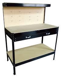 steel garage tool box work bench storage pegboard shelf diy