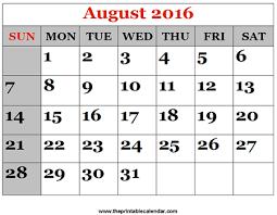 printable monthly calendars august 2015 august 2016 printable calendars